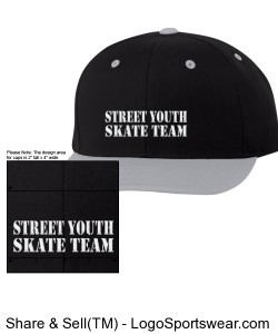 Classic Snapback Cap by Yupoong Design Zoom
